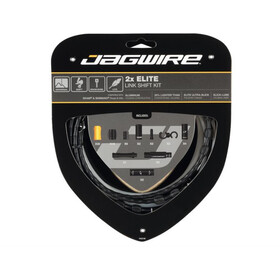 Jagwire 2X Elite Link Shift Cable Set black